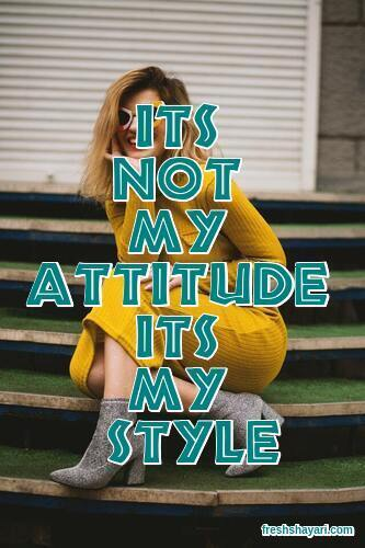 Attitude Caption For FB