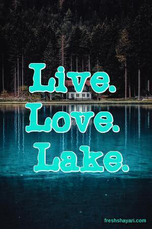 Lake Captions for Instagram