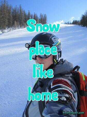 Skiing Captions