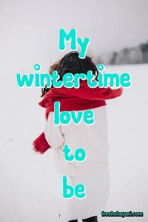 Winter Instagram Captions