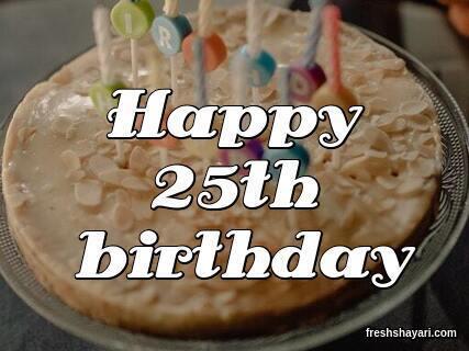 25th Birthday Captions