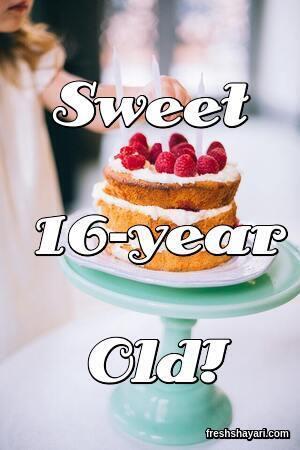 Best 16th Birthday Captions