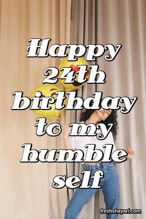 Best 24th Birthday Captions