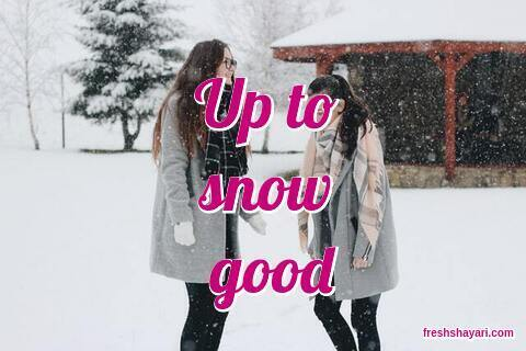 Snow Captions