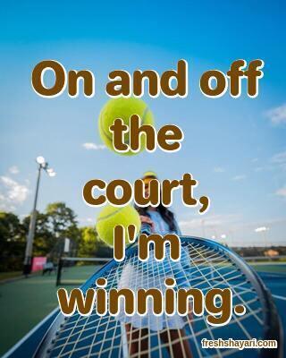 Tennis Captions For Instagram