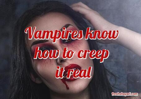 Vampire Instagram Captions